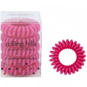 Rolling Hills Professional Hair Rings Purple Flower