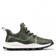 Timberland Oxford Brooklyn Fabric Pour Homme En Vert Camouflage Vert Camouflage, Taille 40