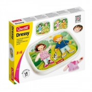 Quercetti Dressy Baby dress-up magnetic - puzzle magnetic