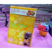 AsianHobbyCrafts DIY 'Paper Flower' Kit by Eno Greeting (SFP001): Contains: Printed Die Cut Paper, Colored Straw Paper, Embellishments