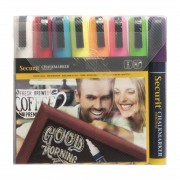 Securit Chalkmaster 6mm Liquid Chalk Pens Assorted Colours (Pack of 8)