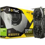 Placa Video Zotac GeForce GTX 1070 AMP Edition 8GB GDDR5 256 bit