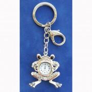 Ключодържател и моден аксесоар - Жаба с часовник (KL2023)
