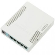 Access point/Аксес пойнт MikroTik RB951G-2HnD, 2.4GHz, Wireless N, 1000mW, 5x Gbit RJ45, USB