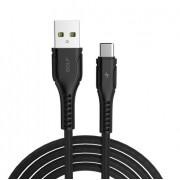 USB kabl tip C 1m GOLF GC-57T crni