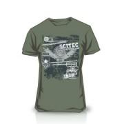 Camiseta Made of Iron Green
