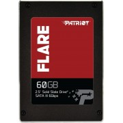 SSD SATA3 60GB Patriot Flare, 550/360MBs PFL60GS25SSDR