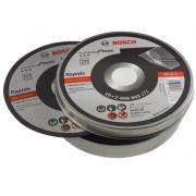 Bosch Accessoires Bosch doorslijpschijven metaal inox 115mm x 1 mm per 10