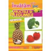 Invatam prin joc fructele si legumele +3ani editia a II-a. Carti de joc educative