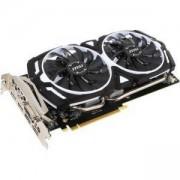 Видео карта MSI GeForce GTX 1060 ARMOR 6G OCV1 6GB 192-Bit GDDR5, DVI-D,HDMI, DP, MSI-VC-GTX1060-6GB-ARMOR-OCV1