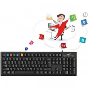 Genius KB-100 Usb Smart Keyboard Uk Layout