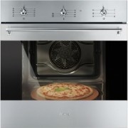 SMEG SF6381XPZ HORNO INOX MULTIFUNCION SELECCION ABATIBLE A