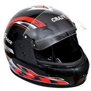 Full Face Helmet - Assorted Designs with ISI Mark.