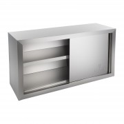 Stainless steel wall cupboard - 120 cm