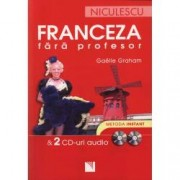 Franceza fara profesor and 2 CD-uri audio
