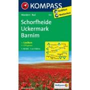 - Schorfheide / Uckermark / Barnim 1 : 50 000: Wanderkarte mit Kurzführer und Radwegen. GPS-genau - Preis vom 02.04.2020 04:56:21 h