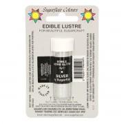 Sugarflair Edible Glitter Lustre Silver, 2g