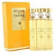 Magnolia Nobile Leather Purse Spray Refills Eau De Parfum 3x20ml/0.7oz Magnolia Nobile Кожен Парфțм Спрей за Дамска Чанта Пълнители