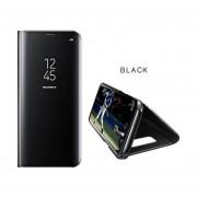 Caja Del Teléfono Flip Espejo Funda Protectora Para IPhone 6/6S/6plus//6Splus/iPhone7/iPhone7plus/iPhone X-Negro