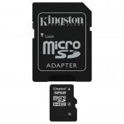 Kingston MicroSDHC Class 4, 32GB