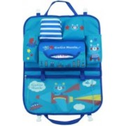 GOCART Cute Cartoon Car Seat Back Organizer Storage Bags Hanging Car Organizador Bags Pocket Car styling for Kids Children(Blue)