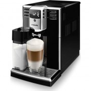 Espressor automat Philips EP5360/10 Seria 5000, sistem de lapte LatteGo, 5 bauturi, 5 setari intensitate, 5 trepte macinare, rasnita ceramica, Piano Black