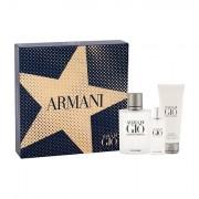 Giorgio Armani Acqua di Gio Pour Homme confezione regalo Eau de Toilette 100 ml + Eau de Toilette 15 ml + doccia gel 75 ml uomo