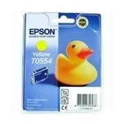 Epson T0554 Cartucho de tinta (Epson T055440) amarillo
