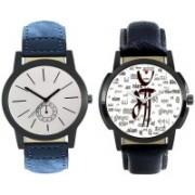 E-Smart 401-410 Dial analogue Watch Combo for men Watch - For Men