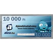 Elektronikus Alza.hu ajándékutalvány 10000 Ft értékben
