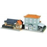 Tommy Tek Geocore Building Collection 109-3 Housing with Western-style House / Clinic 3 Diorama Supplies