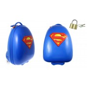 Dětský cestovní kufr kolečká superman zámek gratis