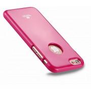 Mercury Goospery Jelly Case Para El IPhone 6 Plus Y 6s Plus TPU Protectora A Prueba De Polvo Del Brillo Gota Volver Funda (magenta)