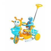 OH BABY HUD SEAT Tricycle with Cycle with Canopy (BLUE)SE-TC-96