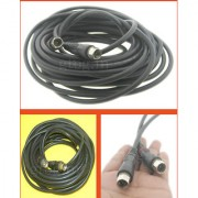 10M Metre Male to Male RF TV Aerial Lead Cable Coaxial Extension Female Digital