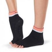Toesox Tåstrumpor Ankle Half Toe Grip Retro