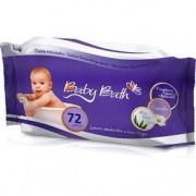 Lenço Umedecido Baby Bath - 72 Unidades