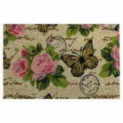 Covoras intrare Flower Power 40x60 cm Butterfly