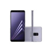 Smartphone Samsung Galaxy A8 Dual Chip Android 7.1 Tela 5.6 Octa-Core 2.2GHz 64GB 4G 16MP Ametista