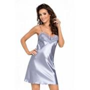 Donna Eva stříbrná Noční košile XL stříbrná