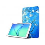 Alogy Etui Alogy Book Cover Samsung Galaxy Tab E 9.6 T560/ T561 Kwitnący migdałowiec (van Gogh) + Szkło