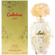 Gres parfums cabotine gold 100 ml eau de toilette edt spray profumo donna