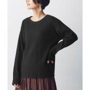 【SALE 10%OFF】nano・universe 【GINZA(web) 掲載】【MIHO NOJIRI × nano・universe】FRUIT OF THE LOOM/別注ワッフルラグ(ブラック)【返品不可商品】