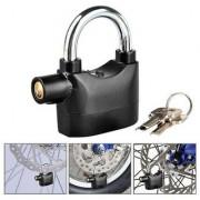 Antitheft Motion Sensor Security Padlock Siren Alarm Lock For Motor Bikes Home Office etc. - ALRMLOCK6
