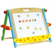 Viga Toys - 59075 Magnetic Table Top Two Sided Easel