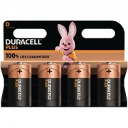 Duracell Plus Power de type D (Pack de 4) (MN1300B4)