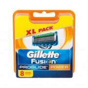 Gillette Fusion Proglide Power 8 ks náhradné ostrie pre mužov