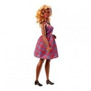 Mattel Barbie - Muñeca Fashionista - Vestido Multicolor