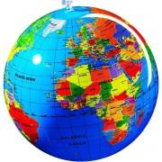 Glob pământesc gonflabil, minge pentru plajă, 30 cm
