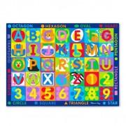 Covor de joaca litere si forme geometrice Melissa Doug